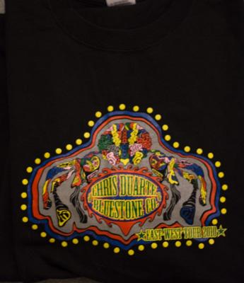 Chris Duarte & Bluestone East West Tour 2010